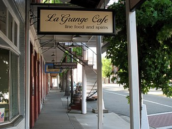 When in Weaverville, be sure not to miss an excellent dinner at La Grange!