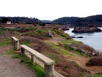 Headlands Trail on the Mendocino Coast